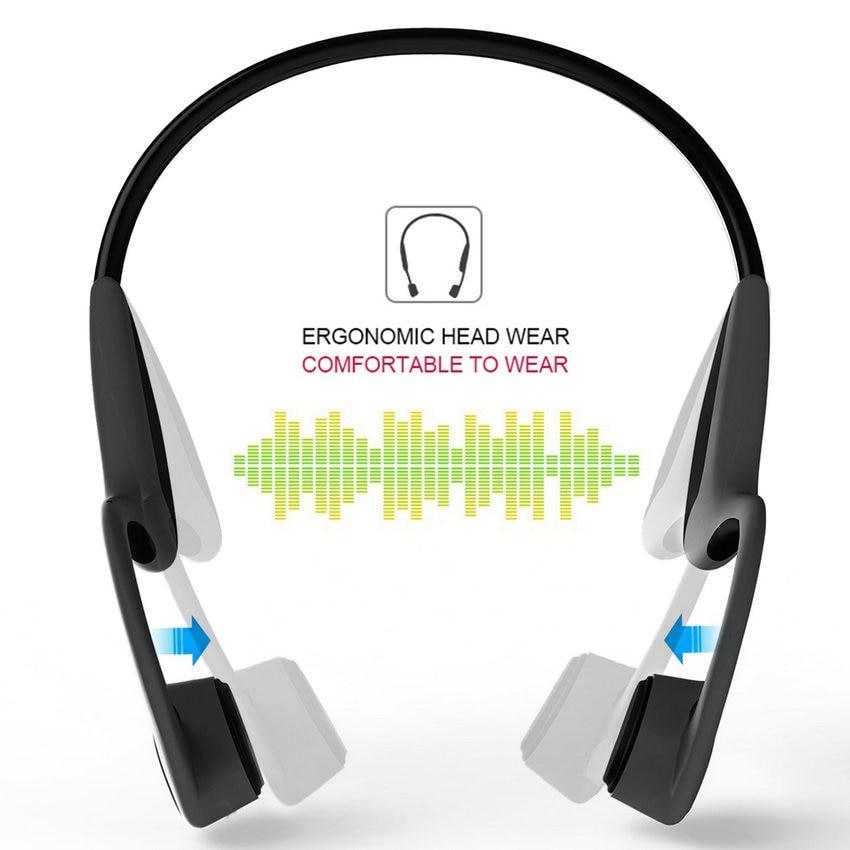 2018 Bluetooth Auriculares de conducción ósea Auriculares - Audio y video portátil - foto 2