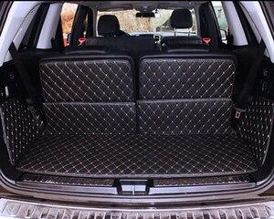 Хорошие коврики! Специальные коврики для багажника Mercedes Benz GL 450 7 мест X164 2011-2006 прочные ковры для сапог GL450 2008, бесплатная доставка