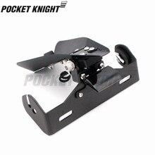Регистрационный держатель номерного знака светодиодный фонарь для DUCATI 899 959 1199 1299 Panigale/S/R мотоцикл ХВОСТ Tidy Fender Eliminator