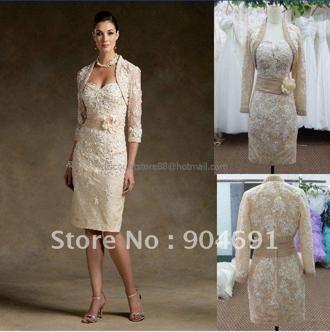 Champagne Coloured Mother Of The Bride Dresses - Wedding Dress Ideas