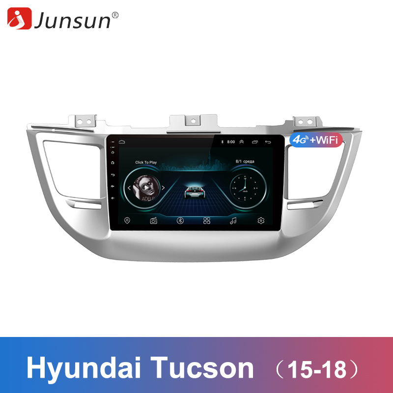 Junsun 2 Din Multimedia Video Player Android 8 1 GPS Navigation Radio for Hyundai Tucson 3