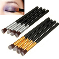 4 Pcs Set Soft Makeup Cosmetic Eye Brushes Eyeshadow Blend Powder Make Up Brush Sets Kit