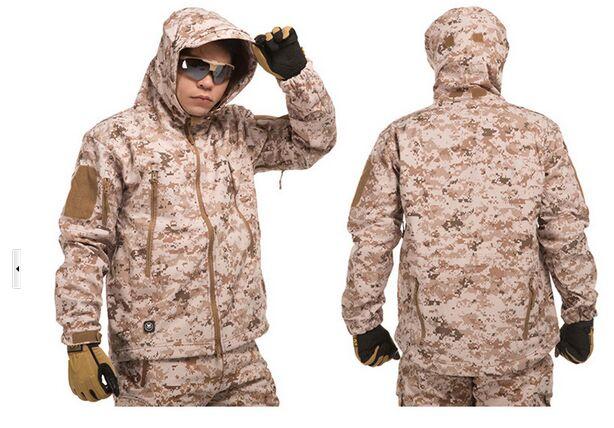 TAD us army military uniform for men fashion outdoor waterproof combat training uniform S-XXL