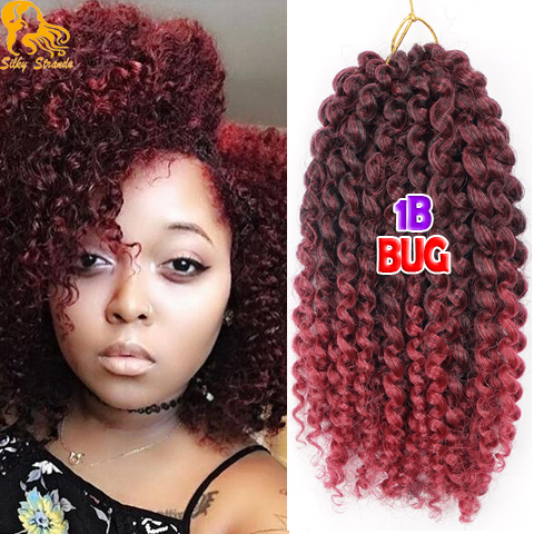 Freetress Crotchet Braids Curly Bohemian Afro Kinky Curly