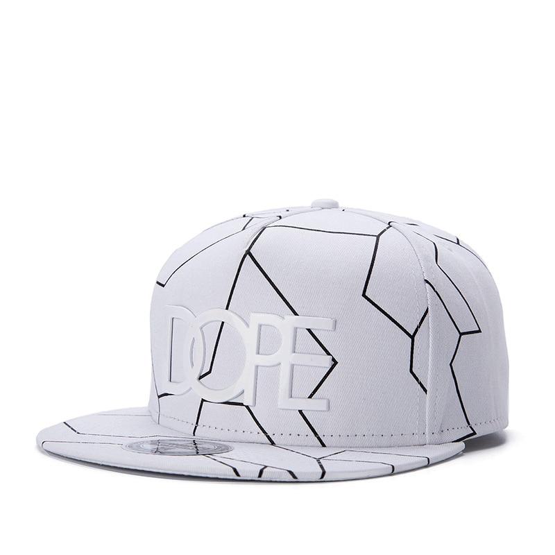 2018 Nouveau Os Gorras Planas Relances style Chaude Masculino Feminino Dope imprimer chapeau plat casquette de baseball Hip Hop Casquette De chapeau Butin Hommes