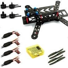 Emax Quadcopter 250 Frame + MT2204 Motor & 12A ESC & Carbon Prop & CC3D RED