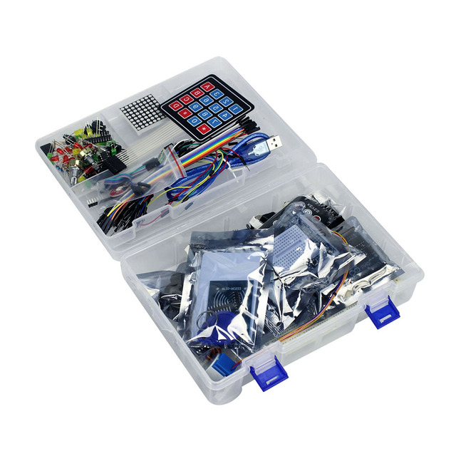 Arduino RFID Starter Kit Upgraded Version with lots of added Modules