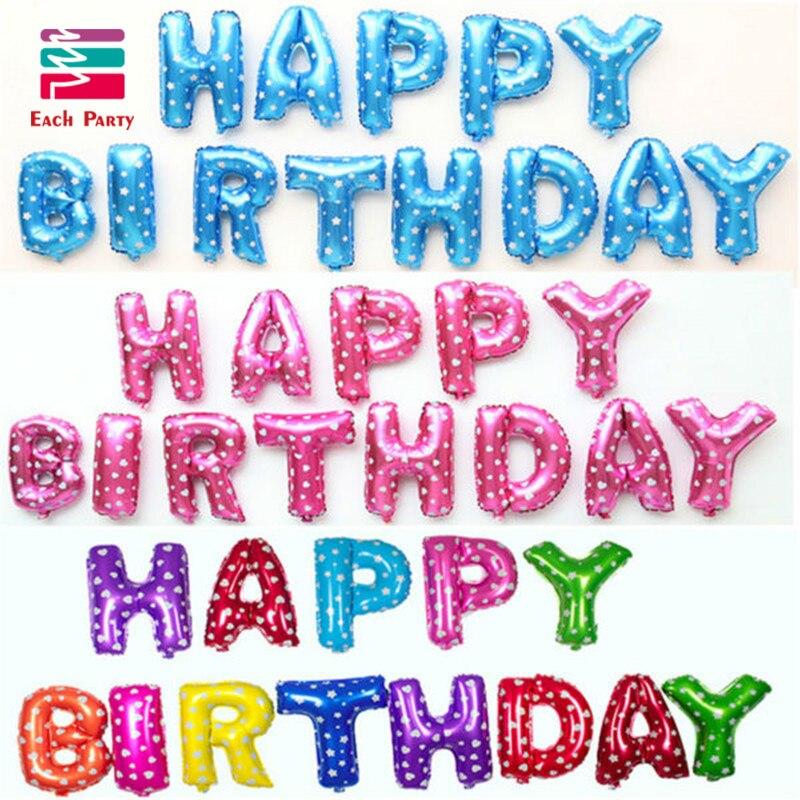 joyeux anniversaire lettre っMulticolore Lettres JOYEUX ANNIVERSAIRE Feuille Ballons Argent  joyeux anniversaire lettre