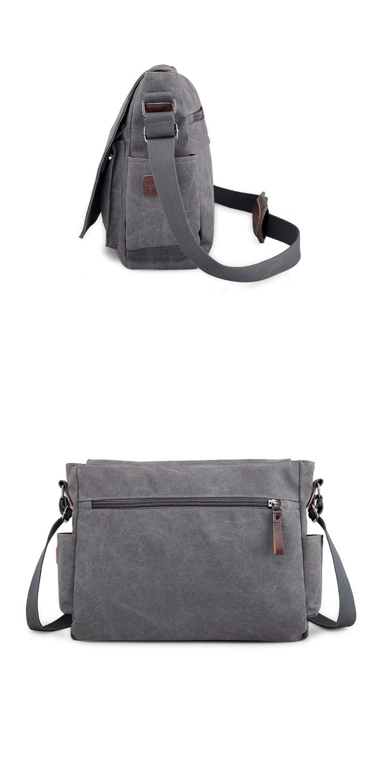 HTB1f05bbEzrK1RjSspmq6AOdFXaG 2019 Brand Designer Men's Briefcase Canvas Crossbody Bags for men 14 Inch Laptop Shoulder Bags Buisness Office Men Messenger Bag