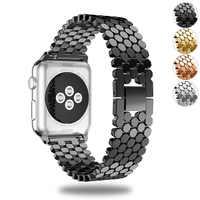Essidi עבור אפל שעון סדרת 4 מתכת חכם להקת שעון החלפת צמיד רצועת חלקי Iwatch 4 כושר צמיד