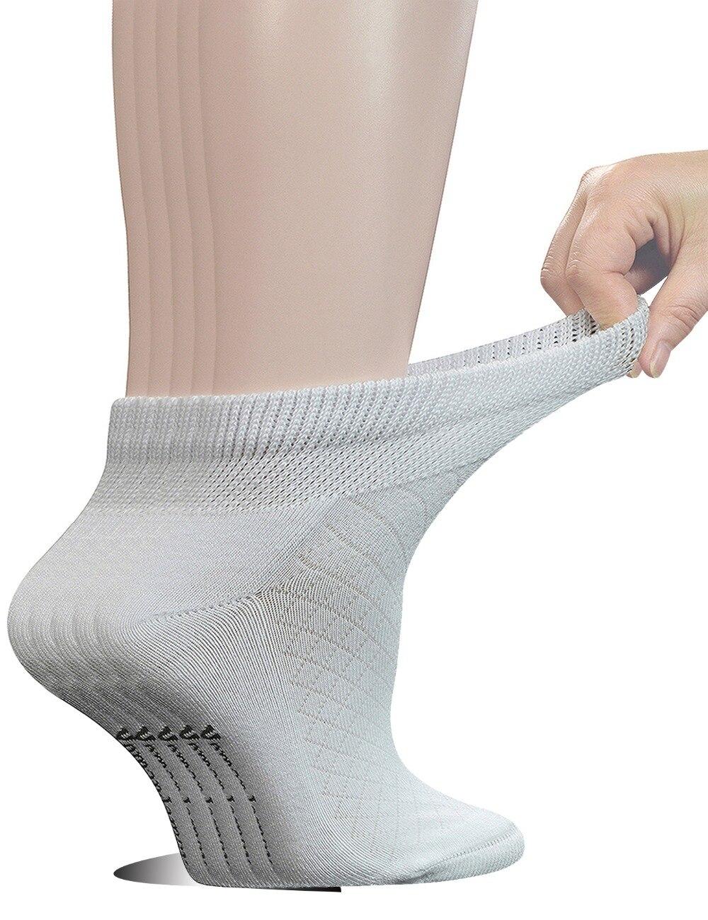Женские хлопковые сетчатые носки до щиколотки, 5 пар дышащих сетчатых носков с бесшовным носком, размер L