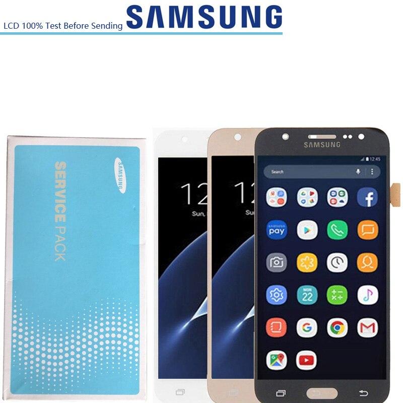 5.0 ''AMOLED LCD pour SAMSUNG Galaxy J5 2015 J500 écran LCD J500H J500FN J500F J500M SM-J500F numériseur d'écran tactile