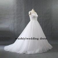 73c22d8ff Wuzhiyi Vestido De Boda nupcial 2018 bola boda cuello novia cristal  Beadding con tren. 2016 New Bridal Wedding Dress 2016 Ball Gown Wedding  Gown O Neck ...