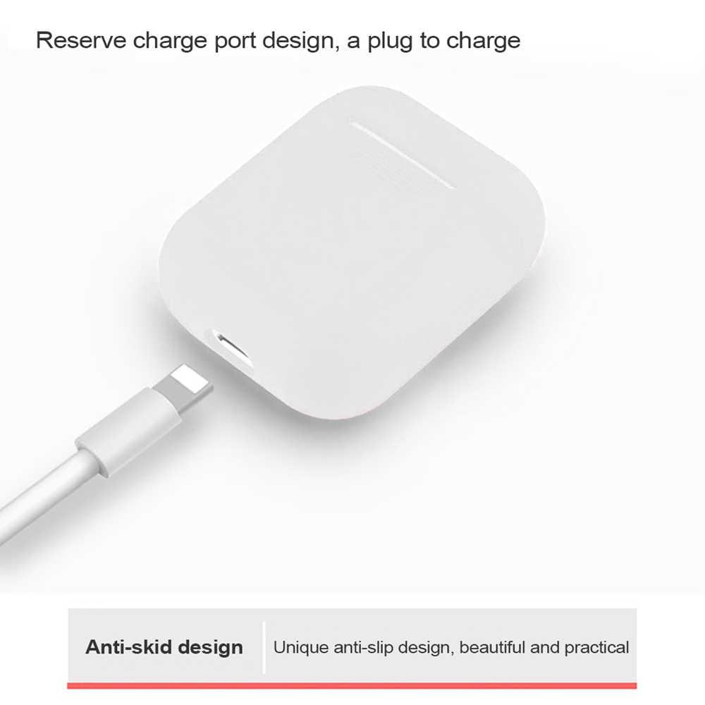 Ốp Lưng Cho Apple 1:1 AirPods Silicone Không Vỏ Quả Trường Hợp I10 I11 I12 I13 I14 I18 I20 I30 I40 I60 I77 i80 I100 WI Chip H1 TWS Fundas