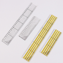1Pcs Plastic 15cm/30cm Multi-functional Clothing Sewing Ruler Home Embroidery Tools Drawing Patchwork Straightedge Rulers
