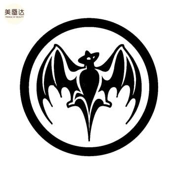 Ром Бакарди Vampire наклейка в форме летучей мыши для автомобиля, заднего лобового стекла, грузовика, внедорожника, бампера, авто, двери, Каяка, ...
