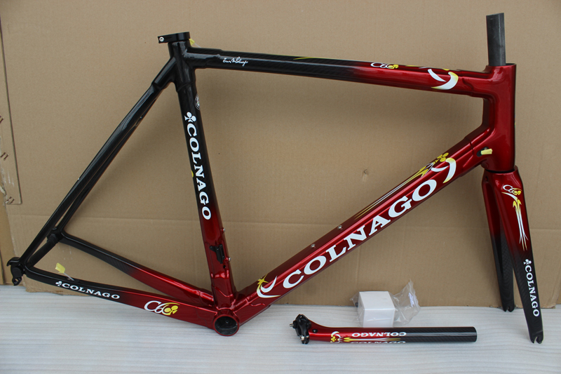 Carbon-Road-Frame C60 Colnago XL S Red Size-Xs