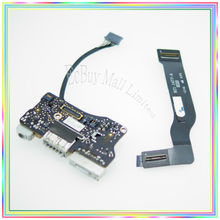 Original For MacBook Air 13.3″ A1466 Dc In Board I/O Board Poewr Board with cable 821-1477-A 2012 Year
