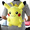 "Pokemon Pikachu Plush Backpack grande Stuffed boneca Toy 16 "" Cute New"