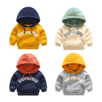 Children With Thick Sweater Hoodie 2017 New Style Boys Head Baby Hoodie Sport Coat Childrens Children