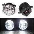 Estilo do carro 6000 K branco 10 W CCC High Power LED Fog lâmpadas luzes DRL para NISSAN Navara D40 Note E11 Pathfinder R51 Pixo UA0