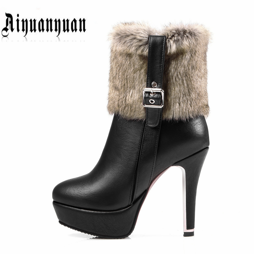2017 New style women winter boots EUR size 38 39 40 41 42 43 44 45 46 47 48 thin high heel lady PU leather boots FREE SHIPPING wisted x boots cowboy boots only size 11 left eur size 42 knight boots tassel short boots