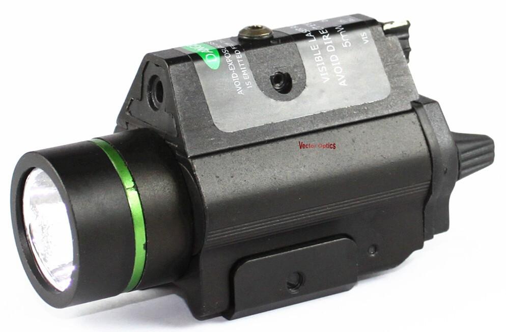 VO Pistol Green Laser Flashlight Acom 3