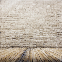 HUAYI Brick Wall Wood Floor Backdrop Art Fabric Photography Prop Studio Newborn Background D-9775 huayi background art fabric customize blue wood planks photography backdrop photos newborn backdrop d 5721