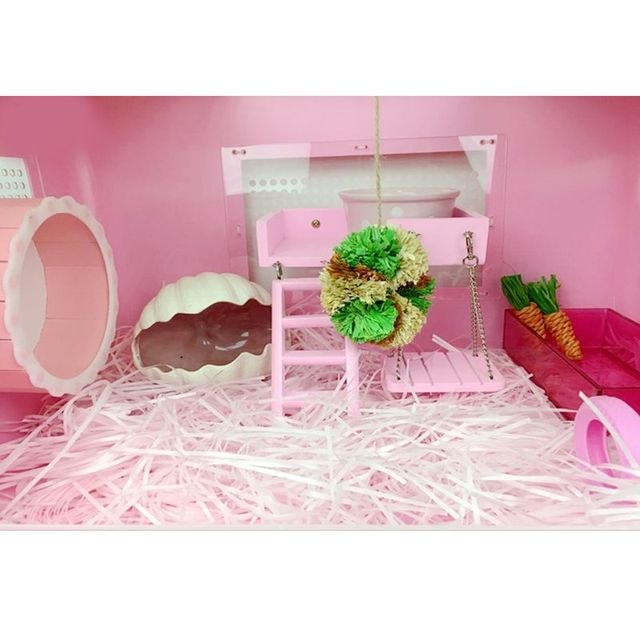 Colorful Small Animal Cage 2