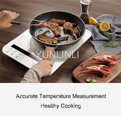 Household Induction Cooker+ Cooking Pot Ultra-thin Intelligent Cooker Electromagnetic Oven  IC-A2102