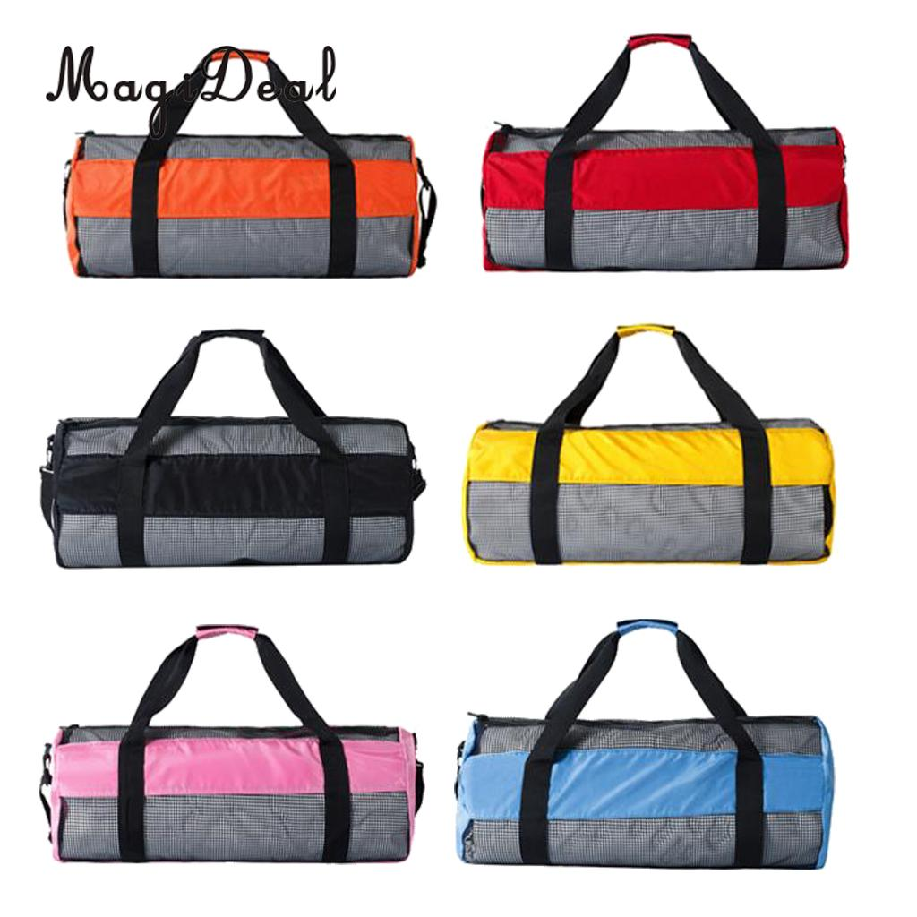 MagiDeal Heavy Duty Large Scuba Diving Snorkel Mesh Gear Bag Carry Holdall Tool for Loading Scuba Diving Gear Equipment 6 Colors gull super bullet snorkel for diving scuba