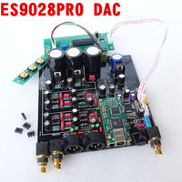 ES9028PRO TCXO 0 1PPM 4 Layer DAC Decoder Board Support Amanero Iis XMOS USB Interface