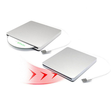 USB DVD Drives Optical Drive External DVD RW Burner Writer Recorder Slot Load CD ROM Player for Apple Macbook Pro Laptop PC victsing new thin cd dvd rw drive usb2 external dvd cd vcd player optical drive burner for apple macbook imac laptop desktops