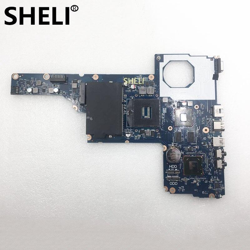 SHELI pour HP livraison gratuite cartes mères CQ45-M 450 1000 2000 694693-001 HM75-PM carte mère DDR3 entièrement testé