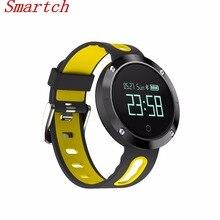 Smartch DM58 смарт-браслет сердечного ритма Мониторы Bluetooth Smart Band Приборы для измерения артериального давления Фитнес трекер Напульсники Водонепроницаемый IP67