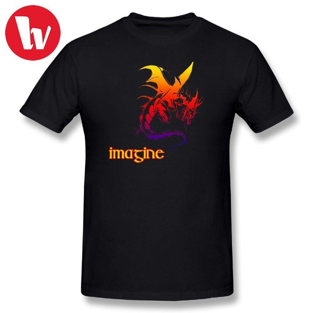 Imagine Dragons T Shirt Man T-Shirt 6XL Basic T-Shirts Big Plus Size 5XL Men Short Sleeve 100% Cotton Casual Music Tee Shirt