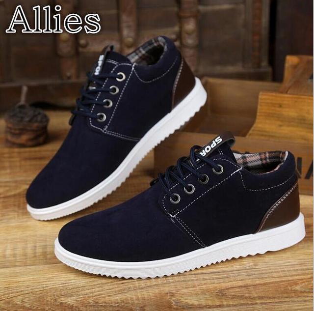 Alleati 2019 new England primavera degli uomini di utensili casuali basso-top scarpe studente scarpe di tela scarpe da uomo di sport