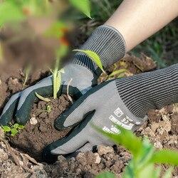 Rękawice ogrodowe ogrodnictwo nitrylowe rękawice gumowe szybkie łatwe do kopania i roślin do kopania sadzenia narzędzia ogrodnicze Drop Ship|Rękawice ogrodowe|Narzędzia -