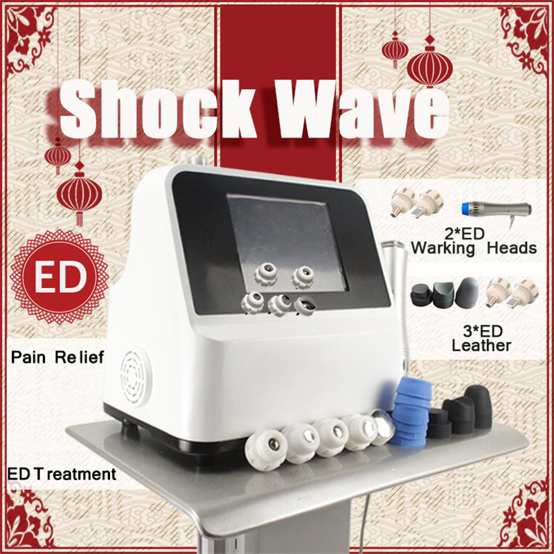 New Design High Quality Extracorporeal Shock Wave Therapy Acoustic Wave Shockwave Therapy Pain Relief Arthritis
