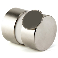 New 2Pcs 40Mm X 20Mm Super Powerful Round Water Meter Magnet Tool