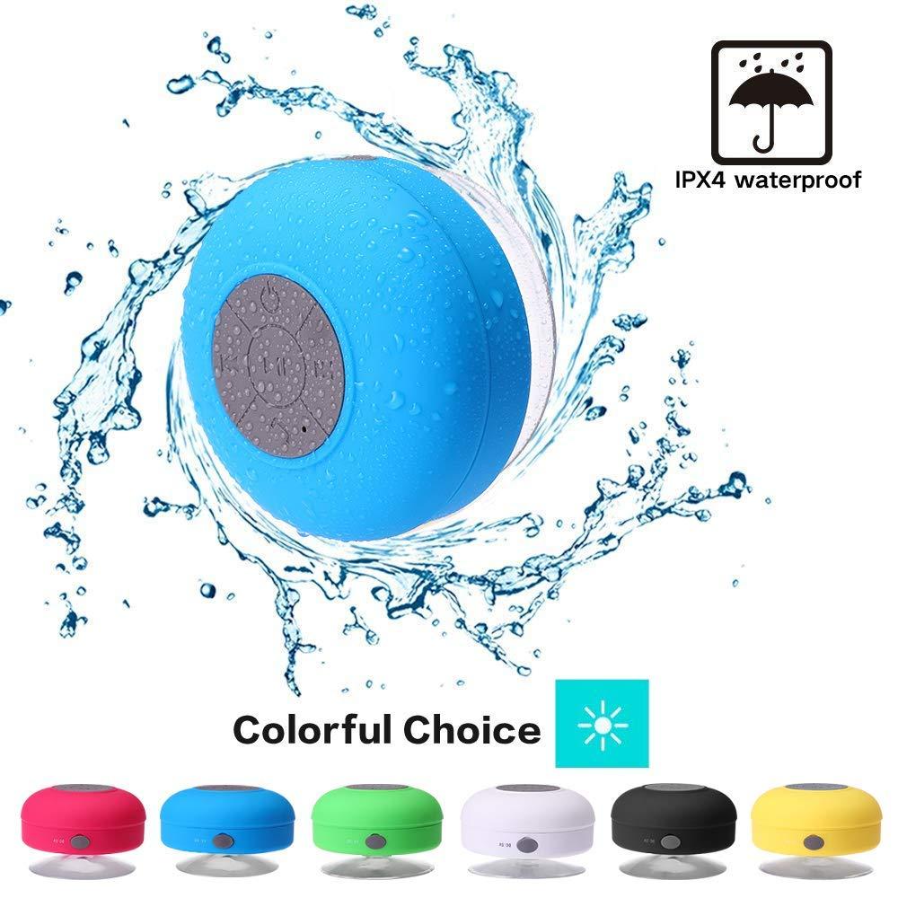 Mini Wireless Bluetooth Speaker Hands Free Waterproof Car Bathroom Office Beach Stereo Subwoofer Music Loudspeaker With Suction