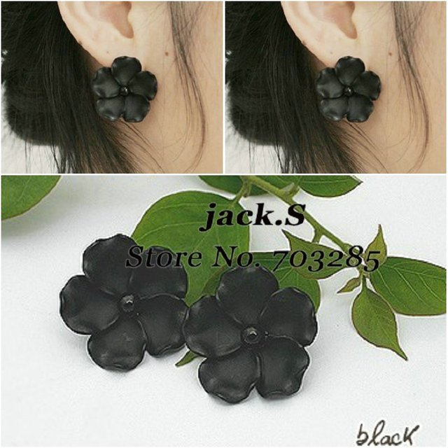 Free shipping! elegant black enamel with pearl earring /jewelry /accessary /hairband/earring/ring 2011 new hot sell 24pcs/lot