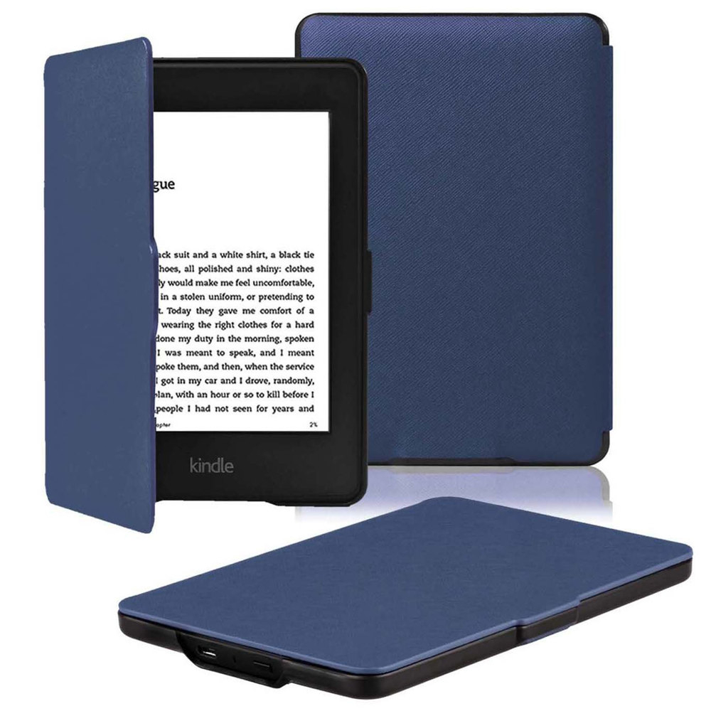 Slim Fashion Cover For Amazon Kindle Paperwhite 1 2 3 PU