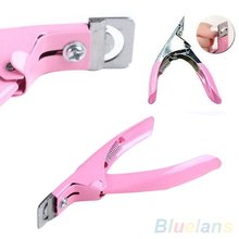 False Nail Art Tips Acrylic UV Gel Edge Manicure Cutter Clipper Tool 2MDY 2TPP