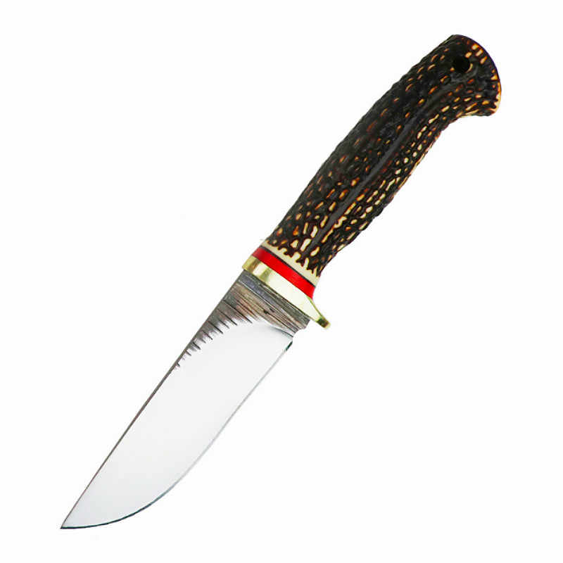 Advanced hunting knife ABS handle camping survival tactic fixed knife Europe North America hunting knife straight knife