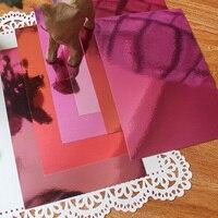 YPP CRAFT A4 цветовые оттенки зеркало доска ягодные оттенки 250GSM
