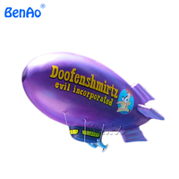 inflating airship balloons helium for advertising/0.18mm inflatable PVC flying helium blimp vote airship,Helium balloon
