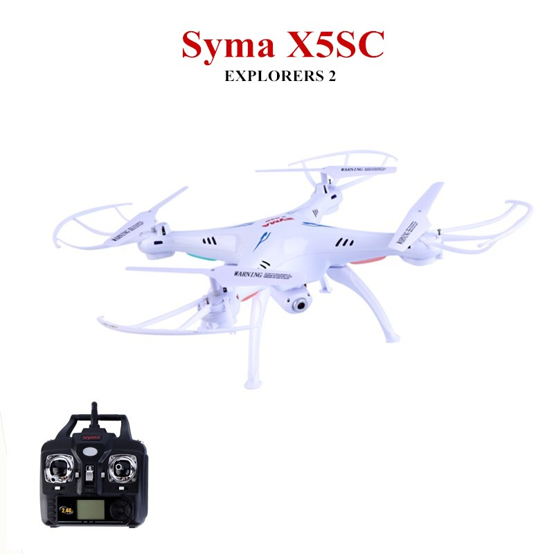 SYMA X5S X5SC X5SW FPV Drone X5C Upgrade 2MP FPV Camera Real Time Video RC Quadcopter 2.4G 6-Axis Quadrocopter RC Airplane toy syma x5c 1 2mp hd fpv camera 2 4ghz 4ch 6 axis rc quadcopter
