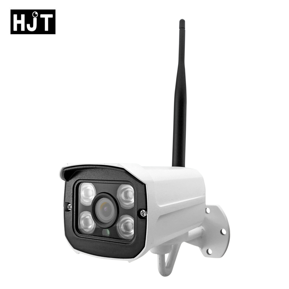 HJT Wireless IP Camera Full-HD 1080P 2.0MP mini wifi Network P2P CCTV Surveillance IR Night Vision Outdoor Indoor with bracket