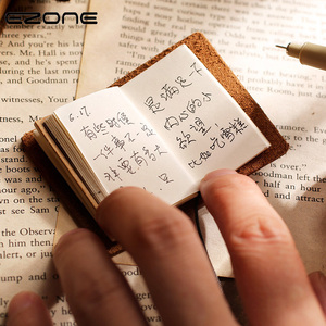 EZONE Mini Notebook Cowhide Co